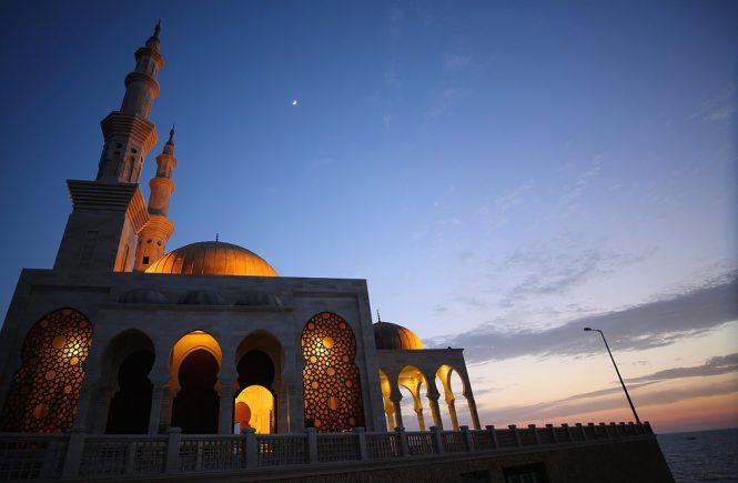 Photograph: Mohammed Saber/EPA