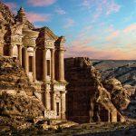 jordan_petra_monastary_carved_rockface